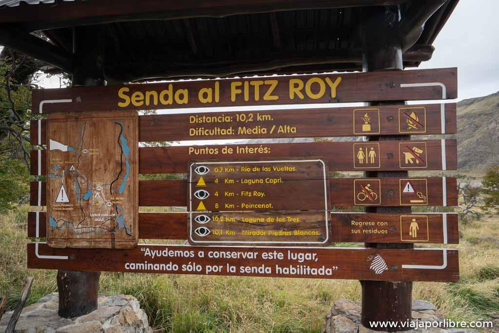 Trekking a Laguna de los tres (Fitz Roy)