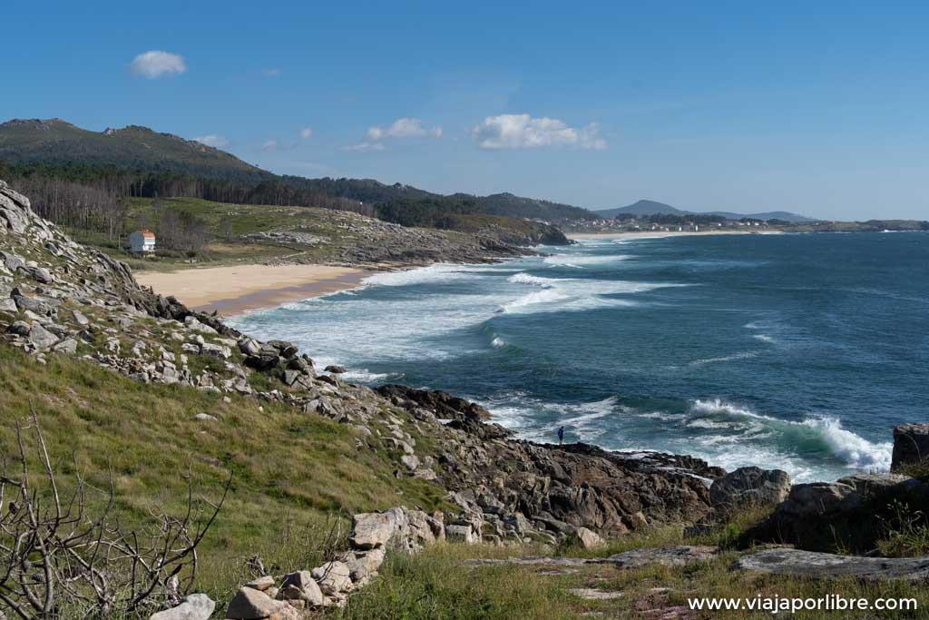 Visita al Castro de Baroña en Galicia