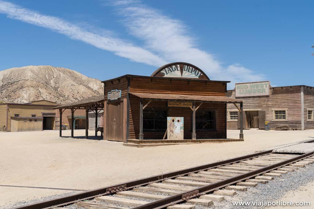 Poblado del Oeste en el desierto de Tabernas