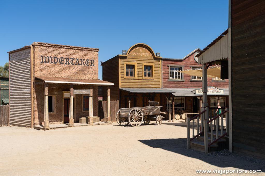 Oasys Minihollywood. Poblado del Oeste en el desierto de Tabernas