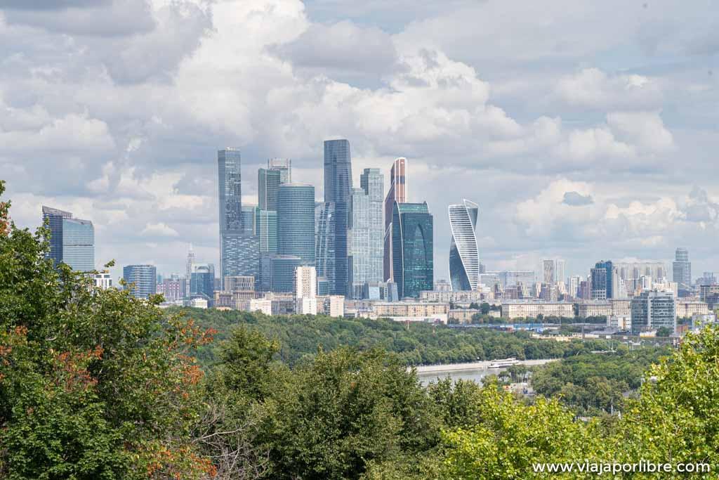 Distrito financiero de Moscú