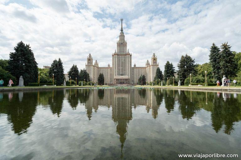Las 7 hermanas de Moscú. Los rascacielos de Stalin