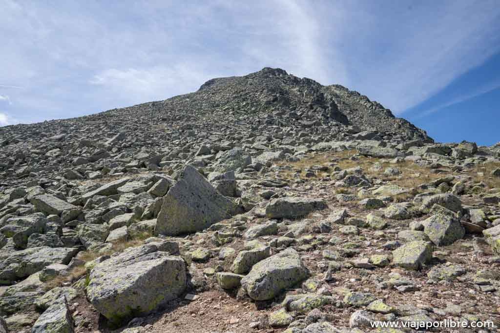 Ruta al Cabeza Nevada desde Navalperal