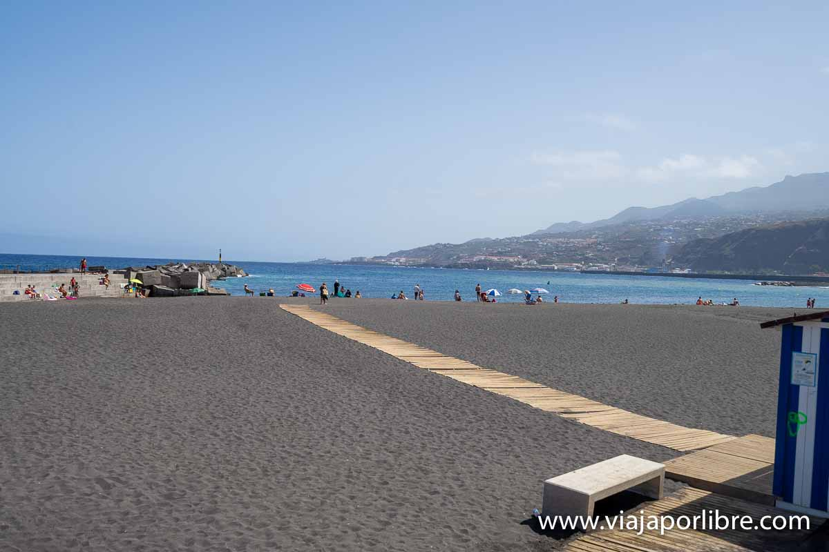 Playa en Santa Cruz de la Palma
