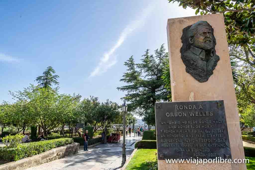 Orson Welles en Ronda