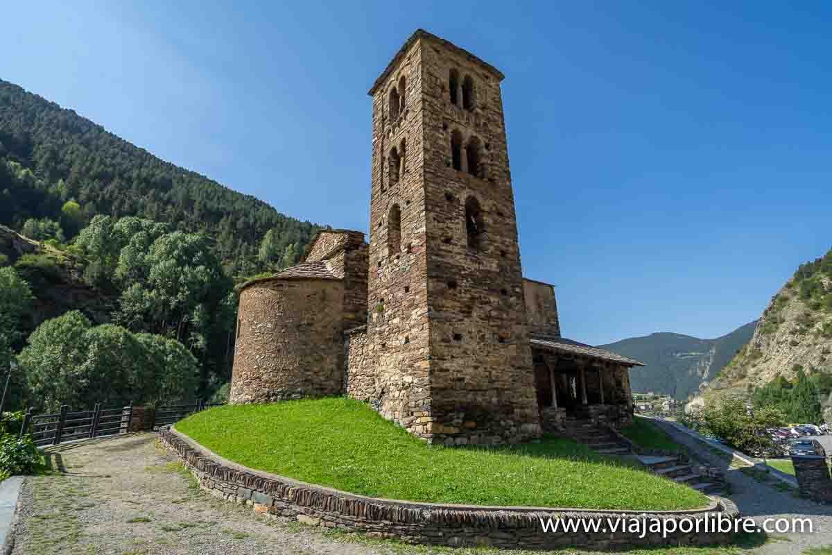 Iglesia Románica en Andorra