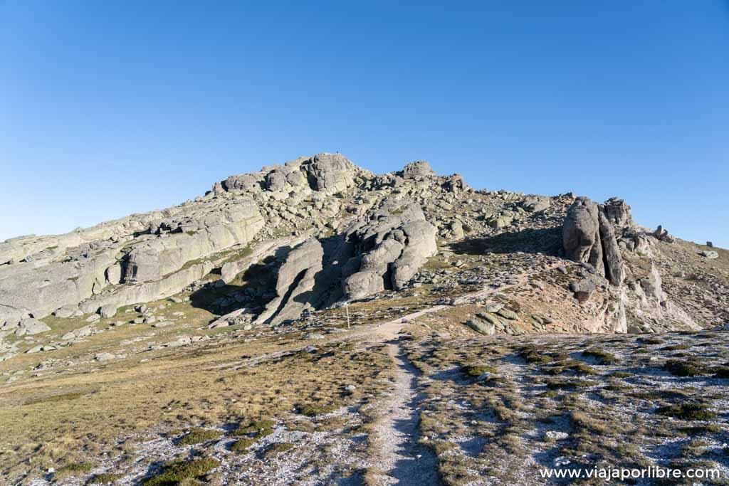 Ruta al pico de Urbión desde la Laguna negra