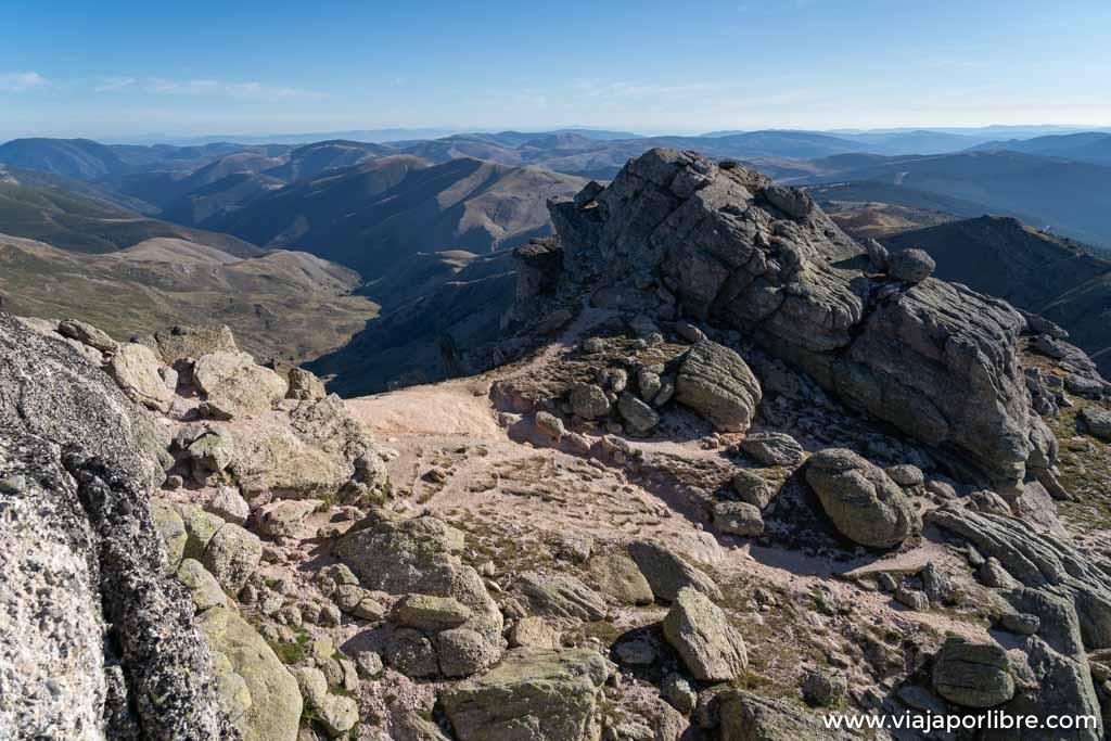 Vistas desde la cima de Urbión