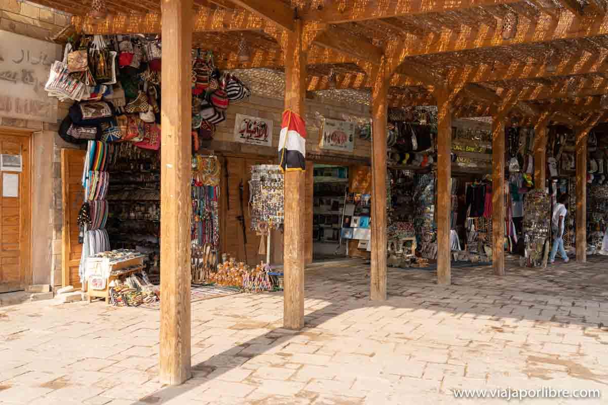 Bazar de Abu Simbel