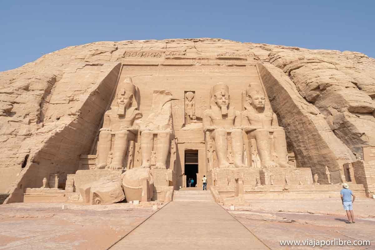 Excursión al templo de Abu Simbel en Egipto