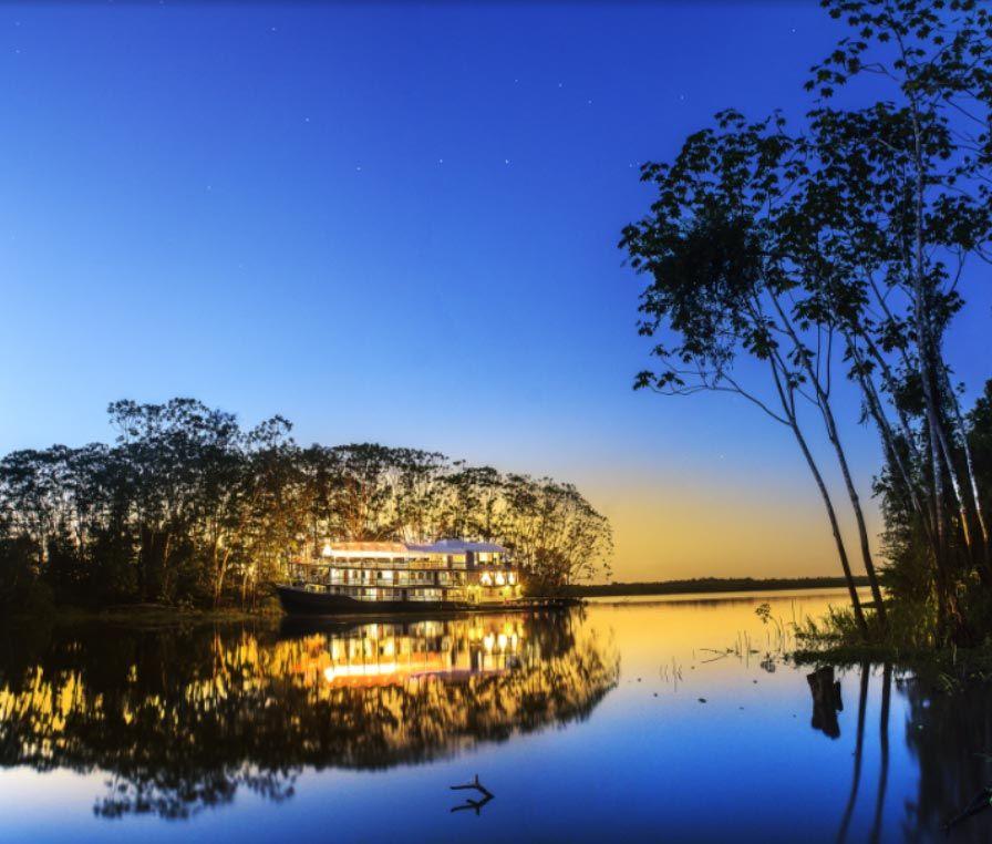 Crédito de la imagen: Reserva Pacaya Samiria, Loreto © Jungle experiences
