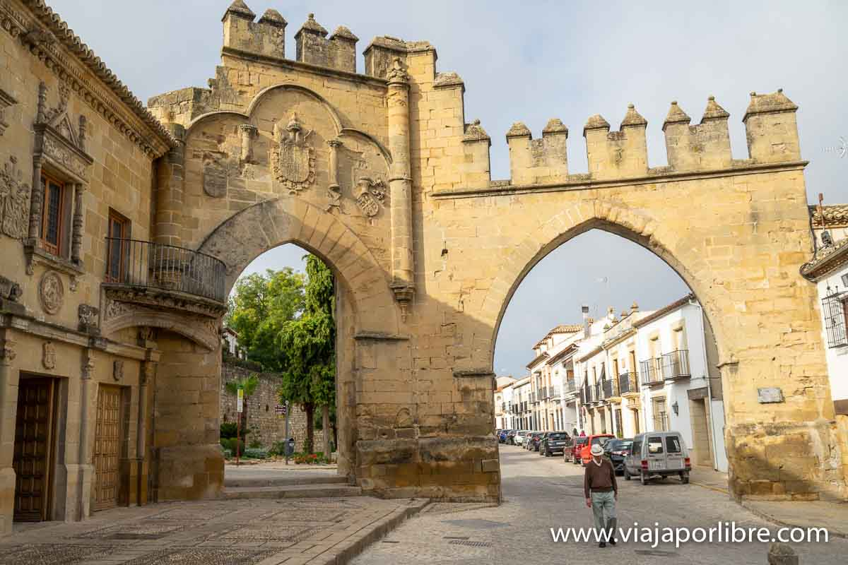 Arco de Villalar y la Puerta de Jaén