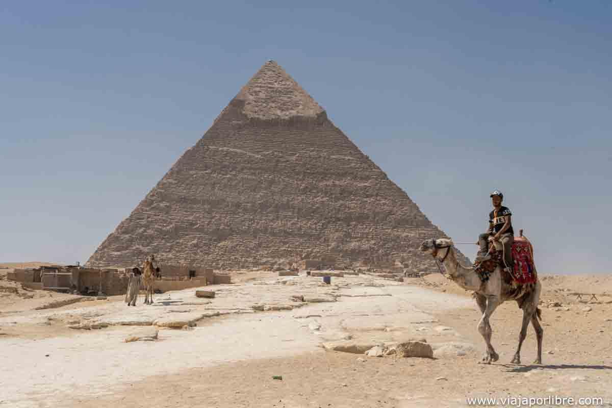 Visitar la pirámides de Egipto