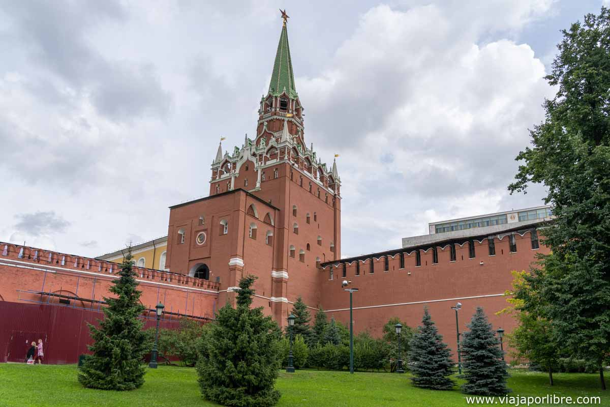 Entrada al Kremlin