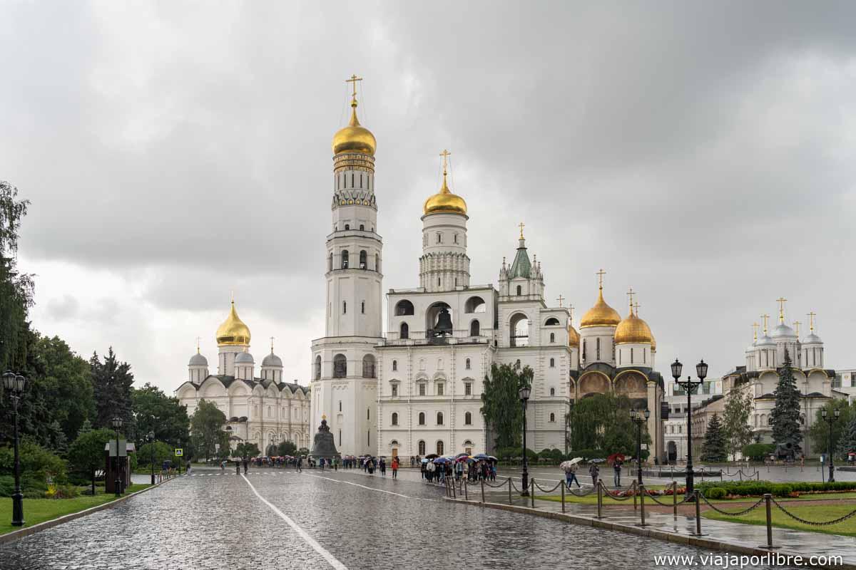 Lluvia en el Kremlin