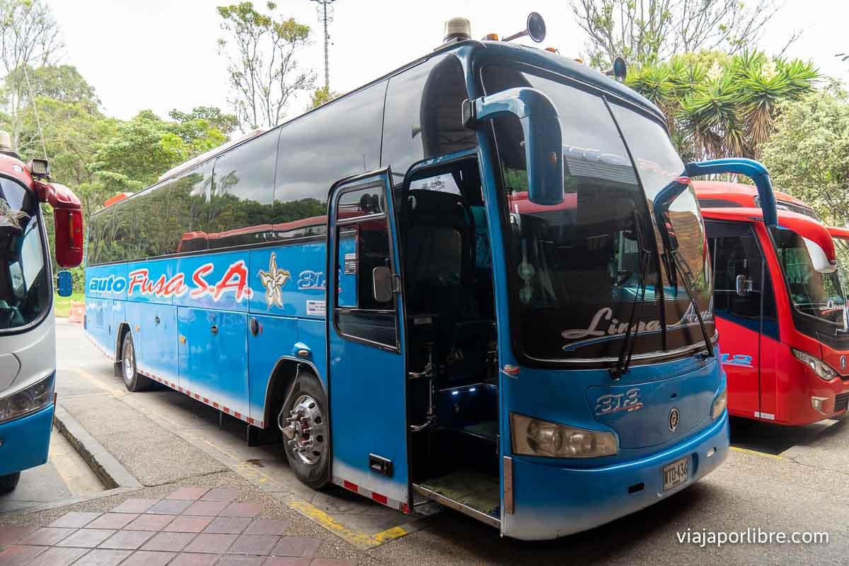 Autobuses de Bogotá a Ibagué
