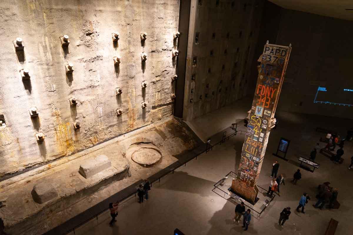Interior del Memorial