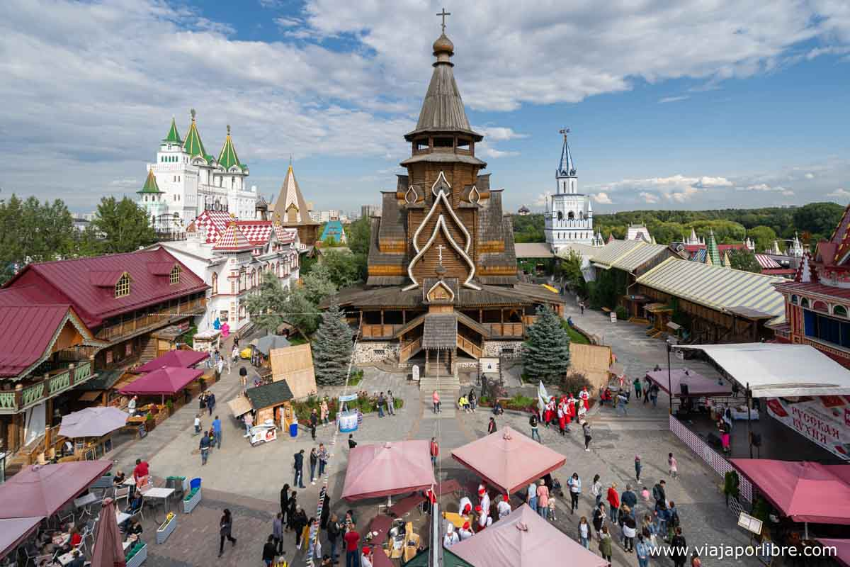 Mercado de Izmailovsky