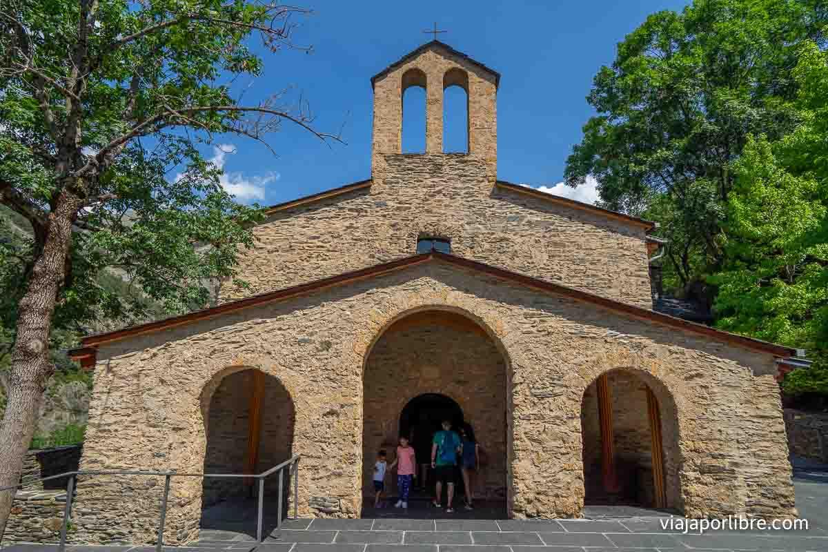 Iglesia del Santuario de Meritxell