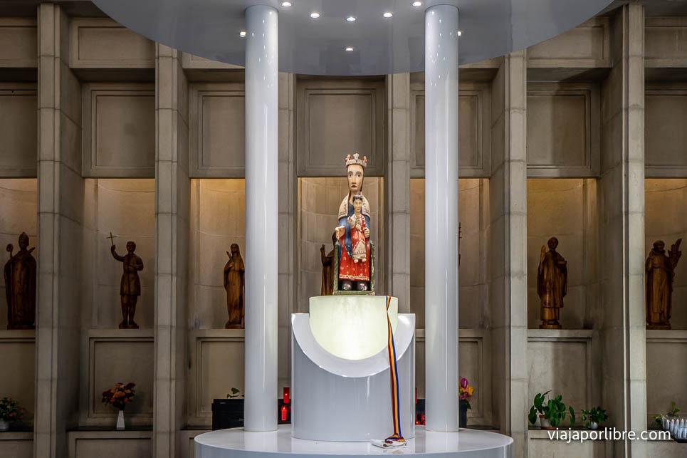 Virgen del Santuario de Meritxell