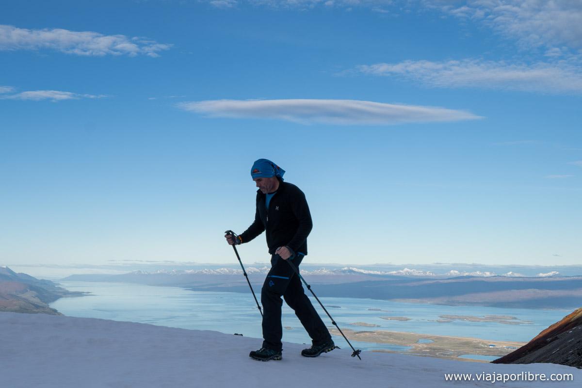 De camino al glaciar