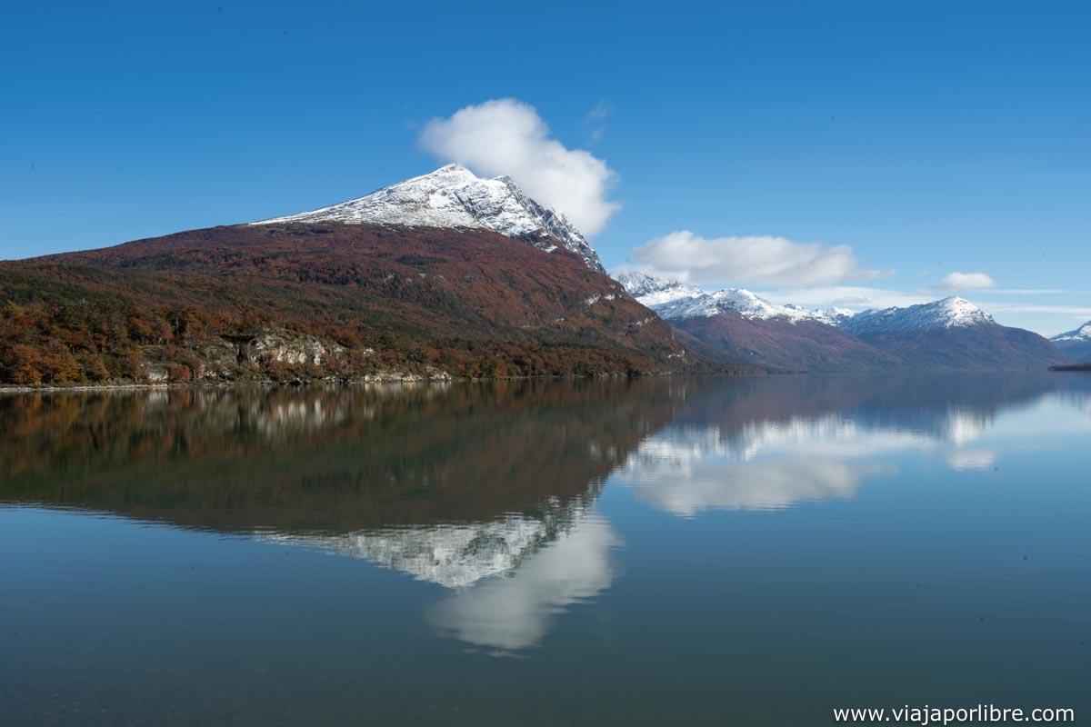 Lago Acigami o Lago Roca