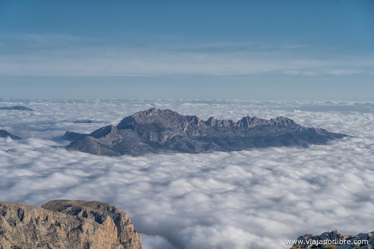 Vistas desde el Puig Campana