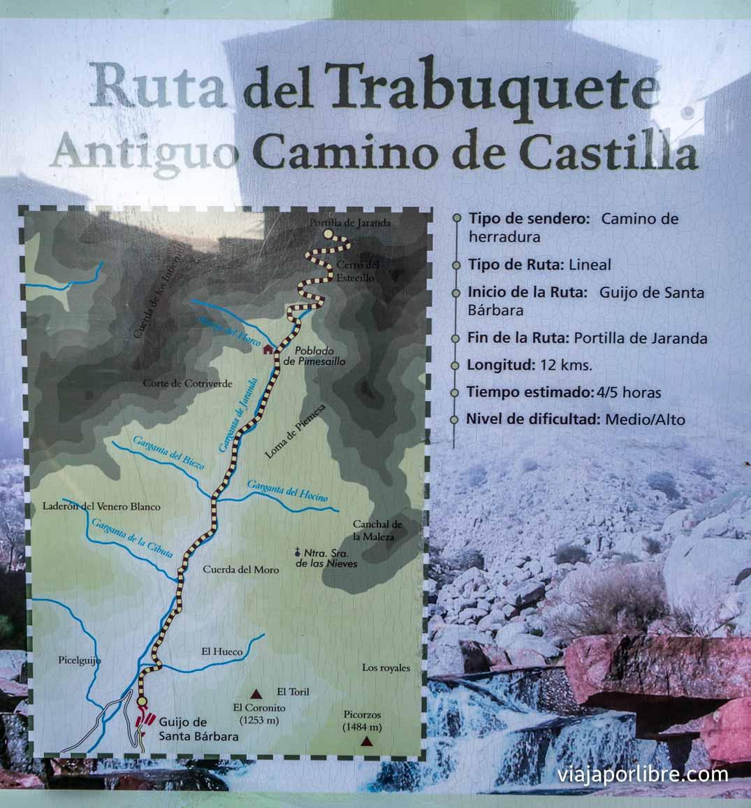 Ruta del Trabuquete