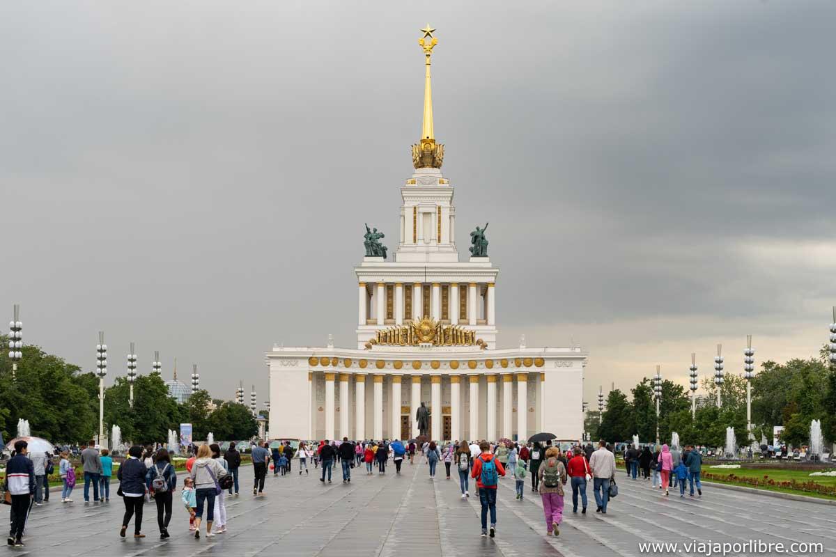 Casa de los pueblos de Rusia