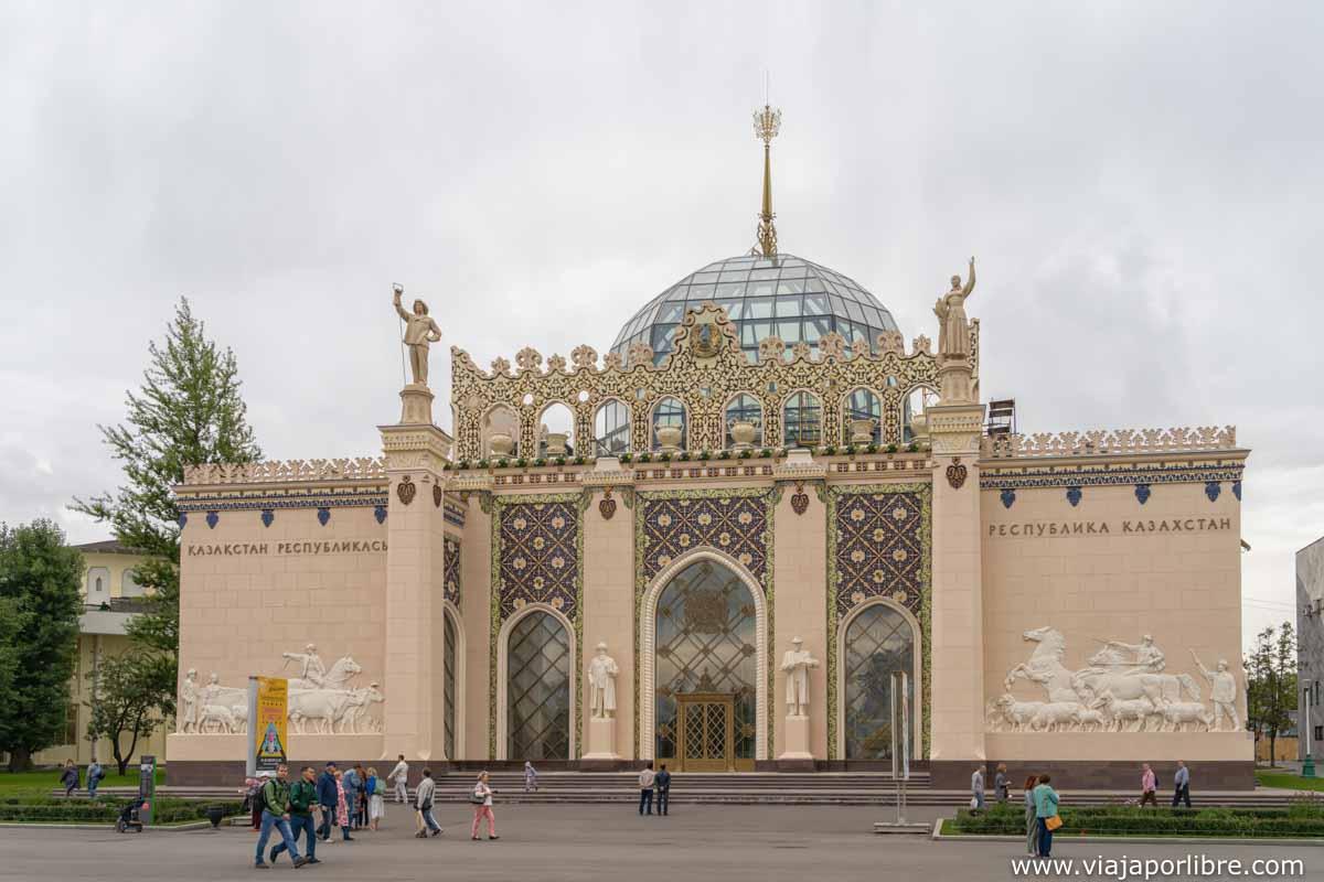 Pabellón de Kazajstán - Edificio 11