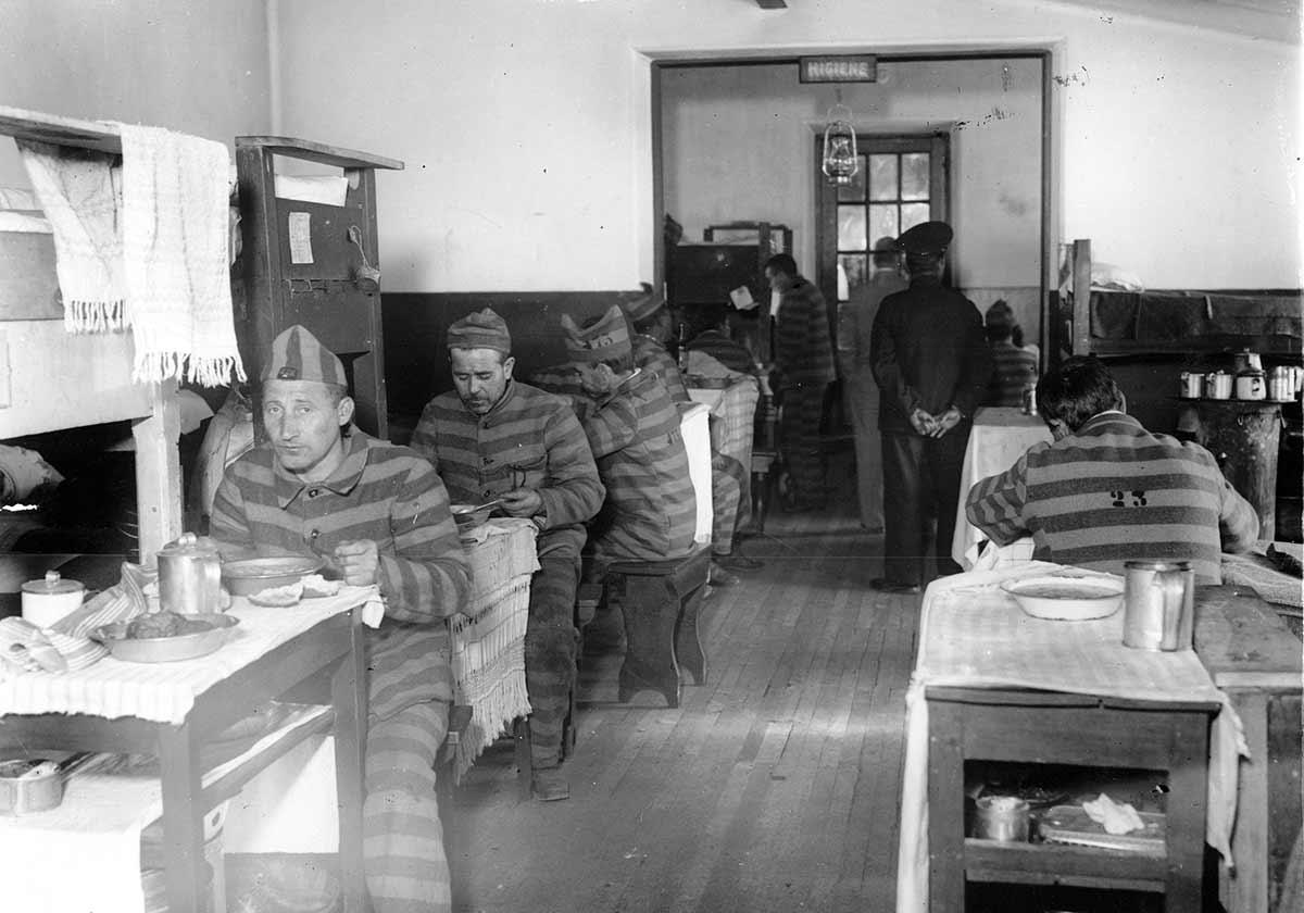 La cárcel de Ushuaia en pleno funcionamiento - Foto wikipedia