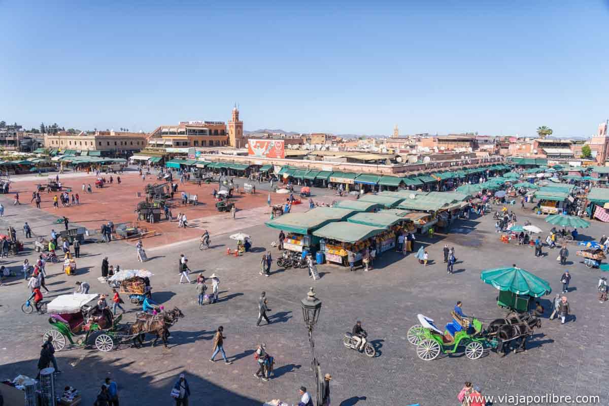 Plaza jemma el Fna