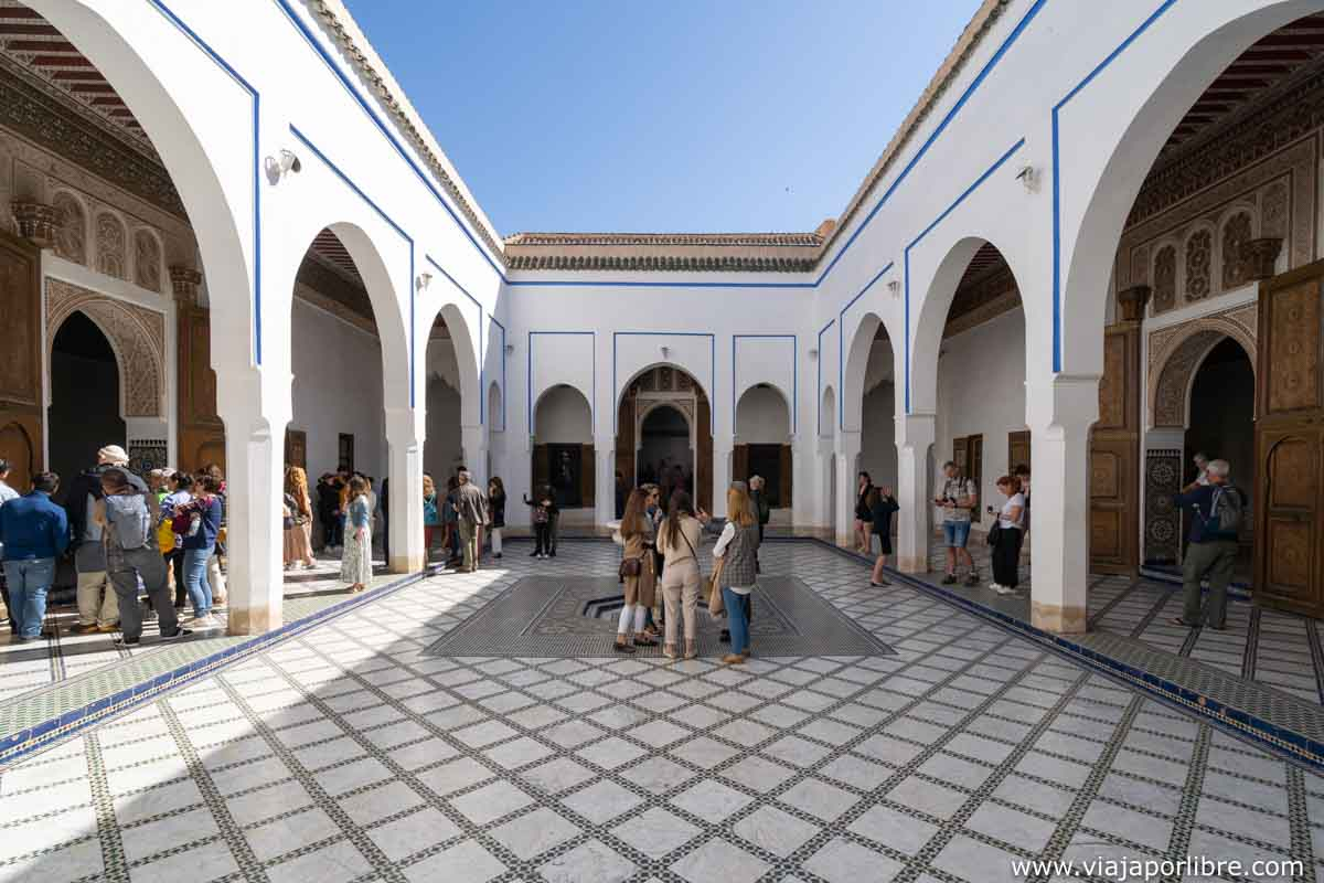 El palacio Bahia