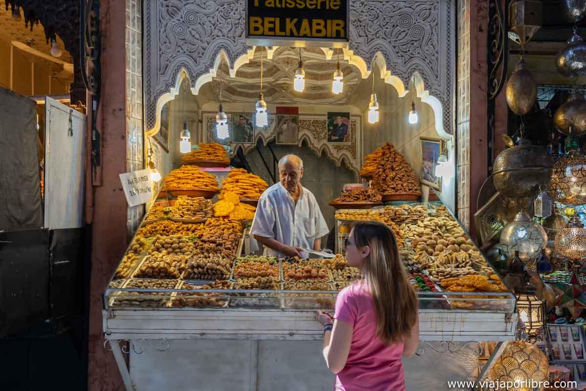 El zoco de Marrakech
