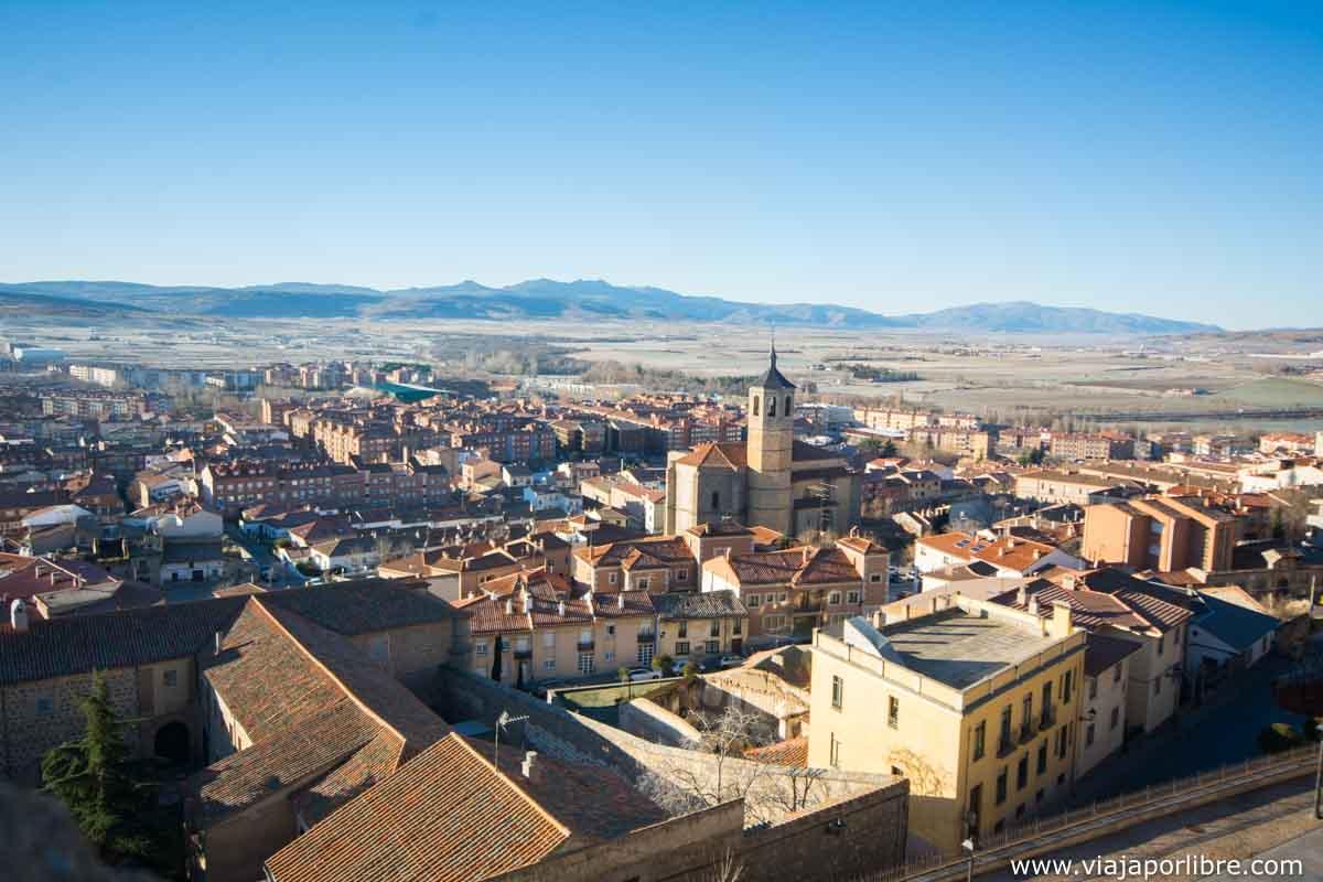 Vistas del sur de Ávila
