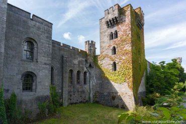 El castillo de Penrhyn (Gales)