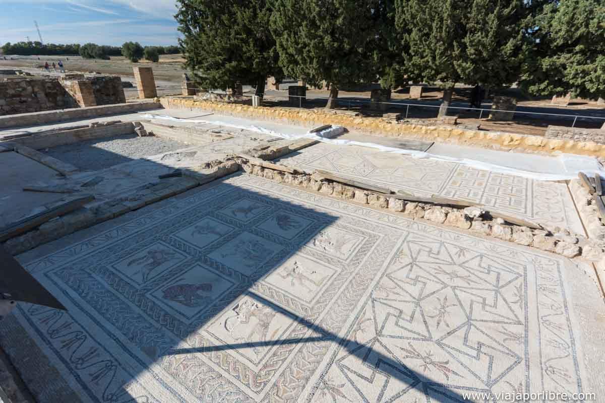 mosaico de Dionisio y Ariadna