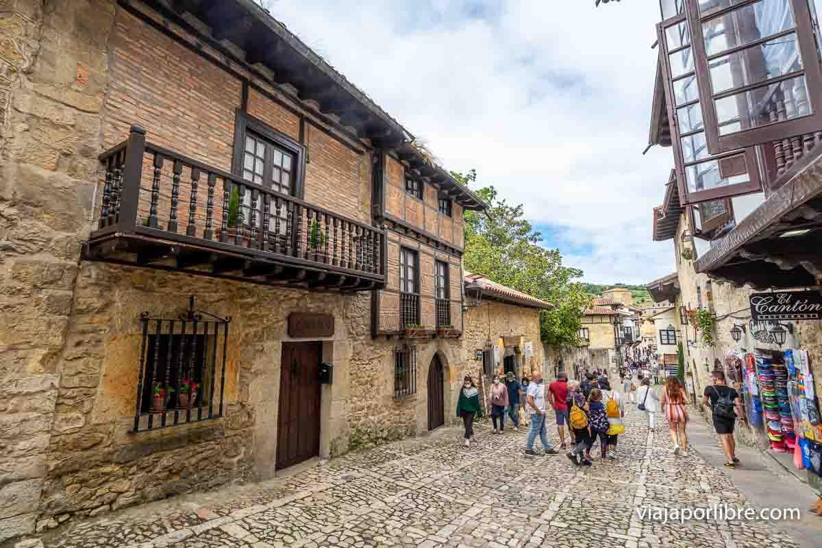 Santillana del Mar - Calle Cantón