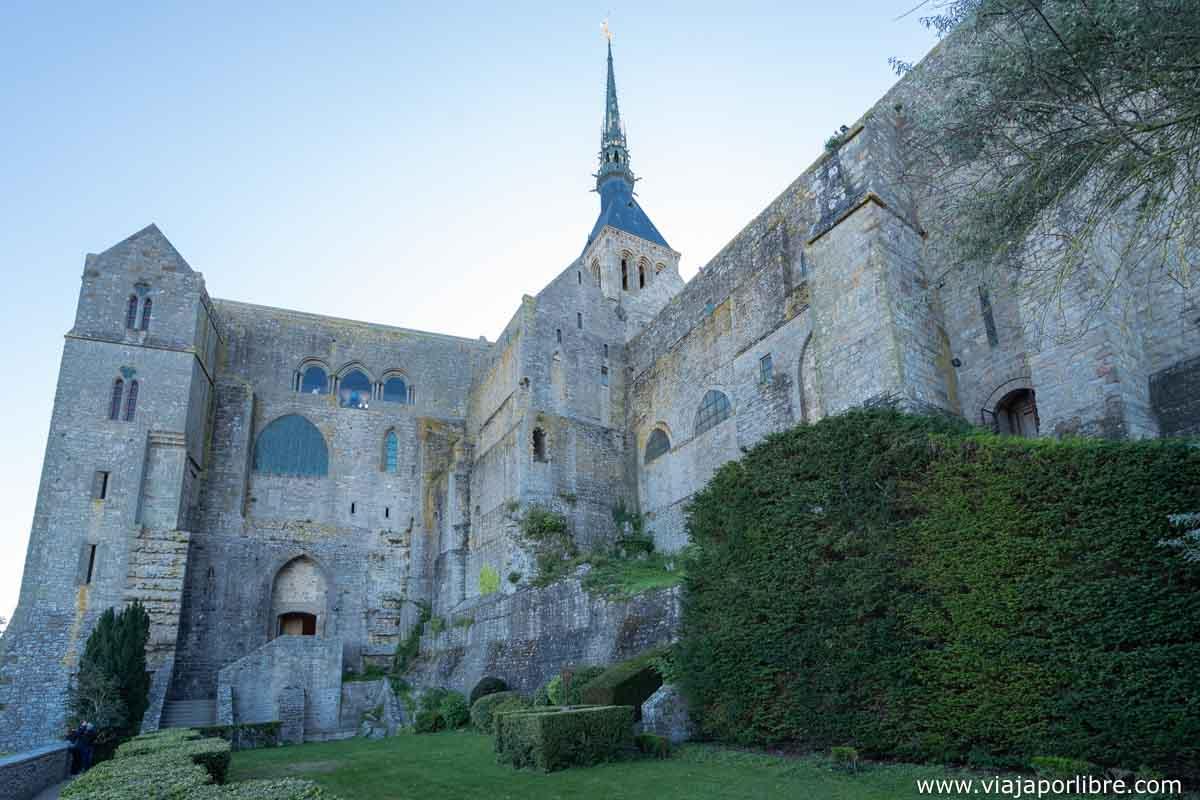 Jardines de la abadía