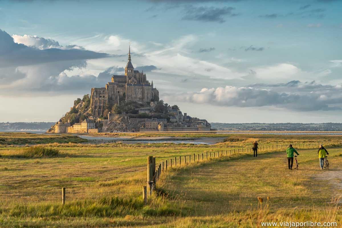 Mont Saint Michel a la mañana