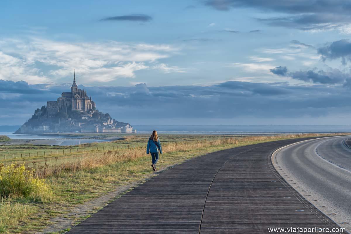 Mont Saint Michel por la mañana