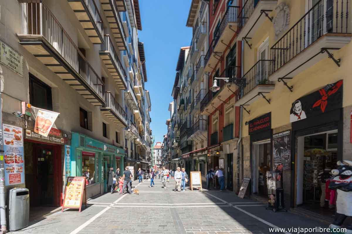 Casco histórico de Pamplona