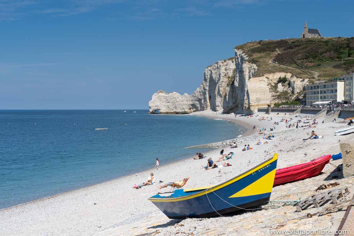 playa de Étretat