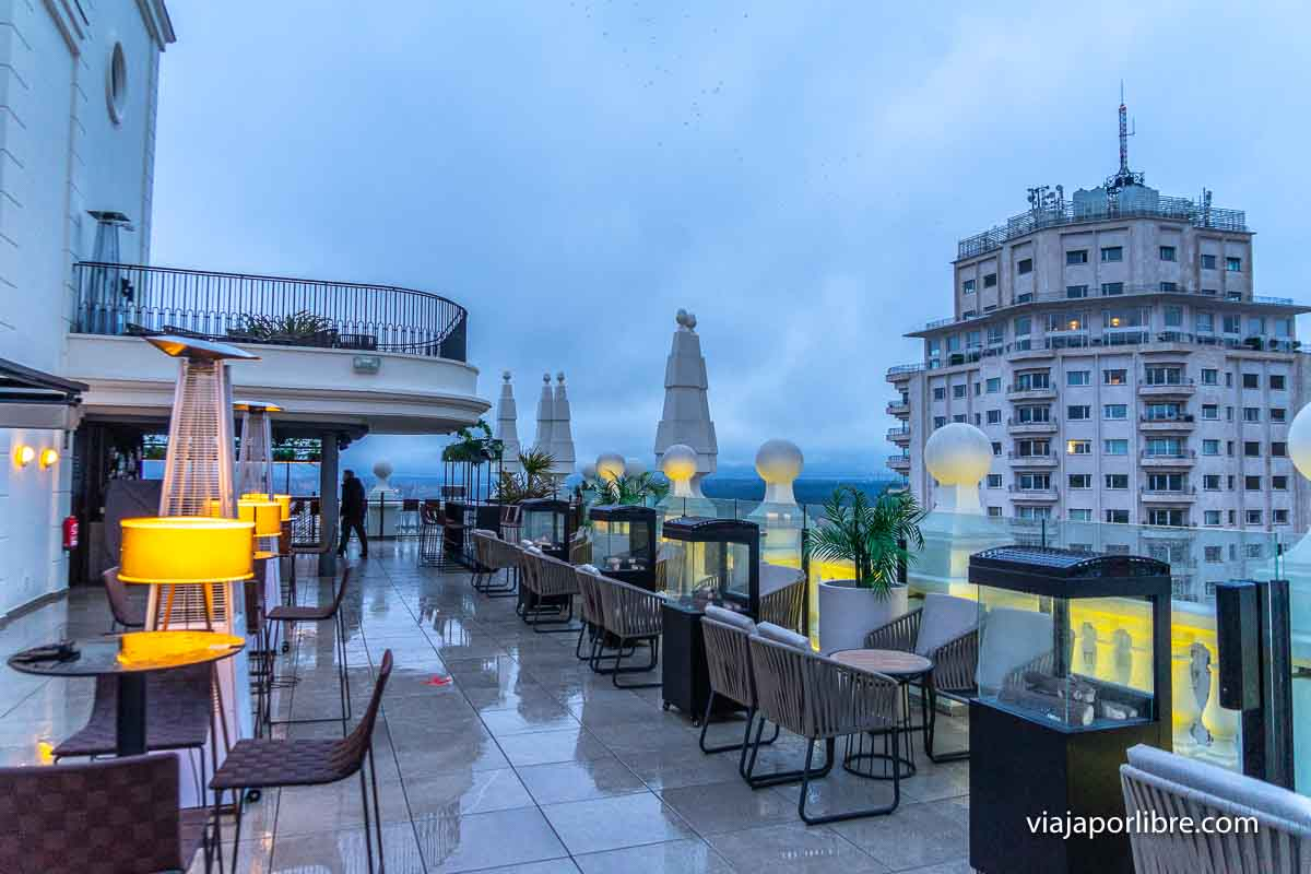 Skybar Hotel Riu Plaza España