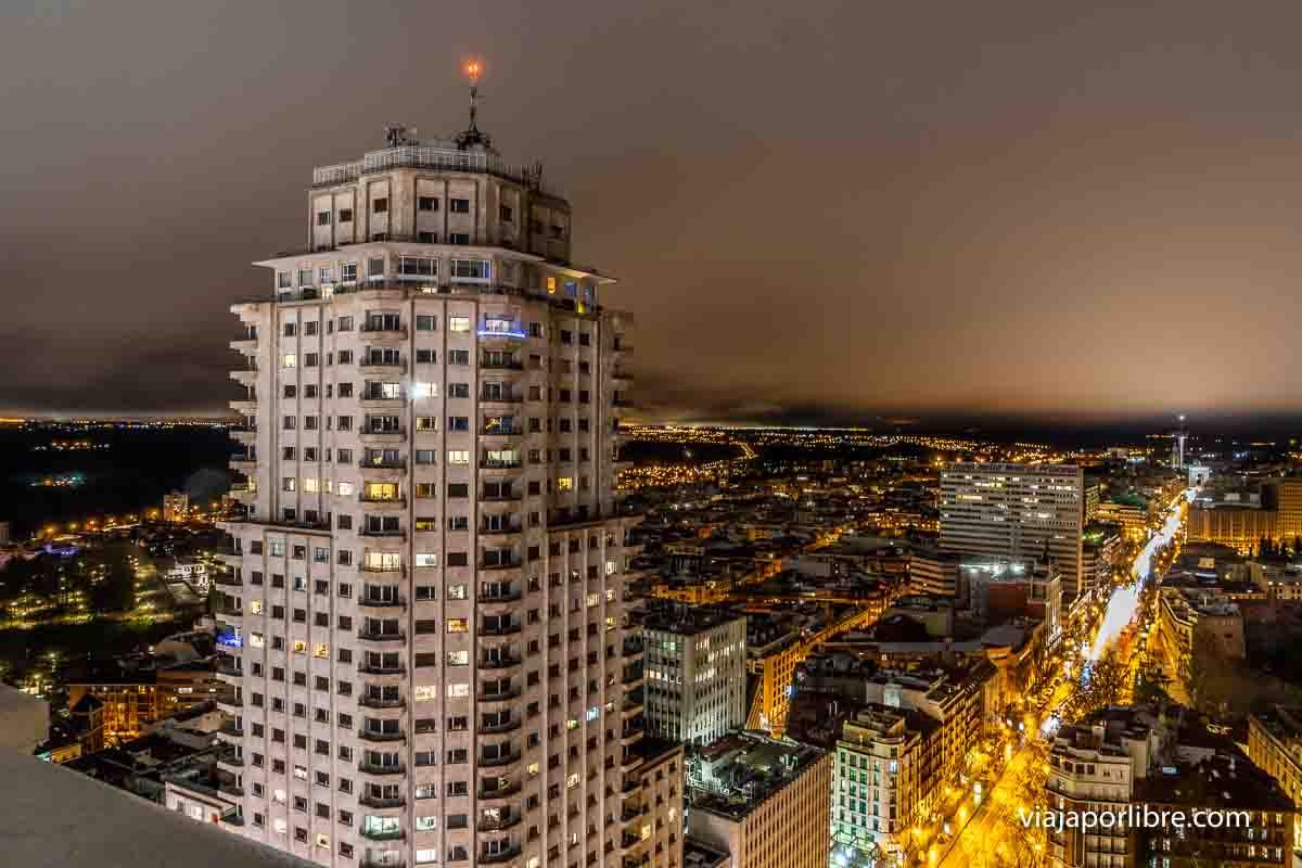 Vistas desde el Hotel Riu Plaza España