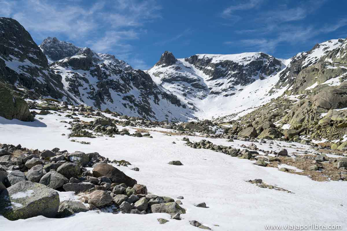 Nieve en Gredos